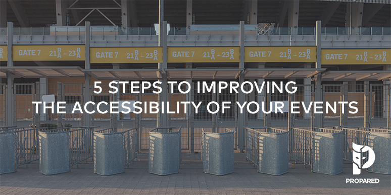 5 Steps to Improving the Accessibility of Your Events