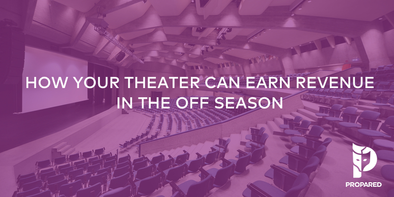 How Your Theater Can Earn Revenue in the Off Season