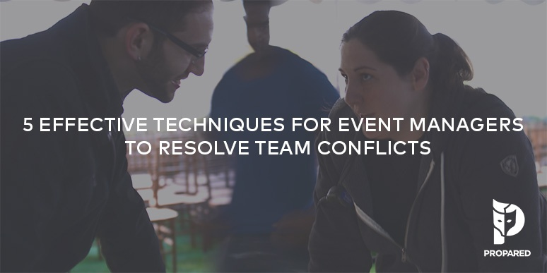 5 Effective Techniques for Event Managers to Resolve Team Conflicts