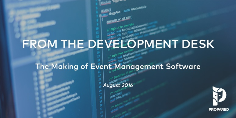 From the Dev. Desk: Building Filters and Dynamic Event Schedules