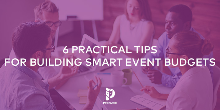 6 Practical Tips for Building Smart Event Budgets