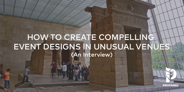 How to Create Compelling Event Designs in Unusual Venues {Interview}