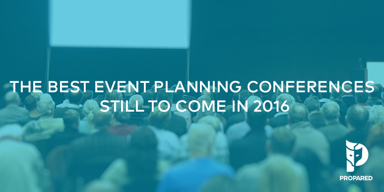 The Best Event Planning Conferences Still to Come in 2016