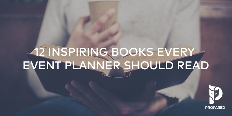 12 Inspiring Books Every Event Planner Should Read