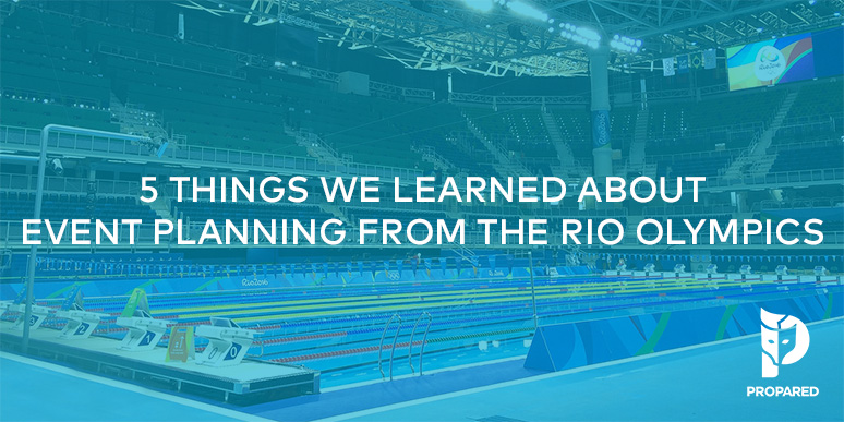 5 Things We Learned About Event Planning From The Rio Olympics