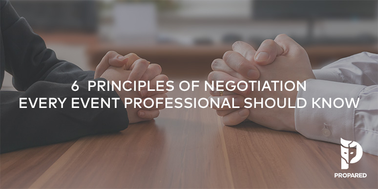 6 Principles of Negotiation Every Event Professional Should Know
