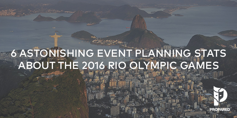 6 Astonishing Event Planning Stats About 2016 Rio Olympic Games