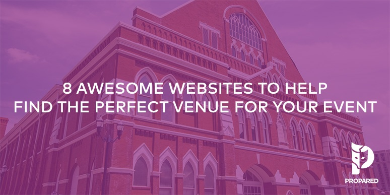 8 Awesome Websites to Help Find the Perfect Venue for Your Event