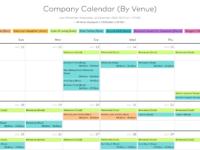 New Propared Calendar Design
